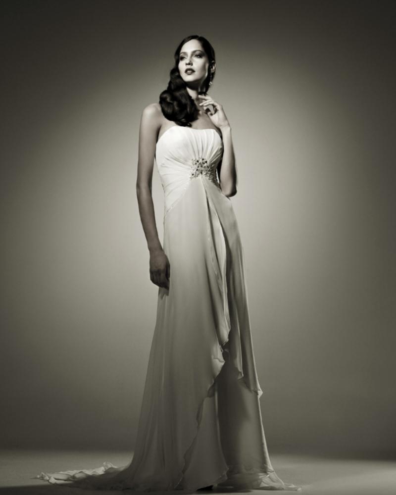 Свадебное платье  Witney из натурального шелка.