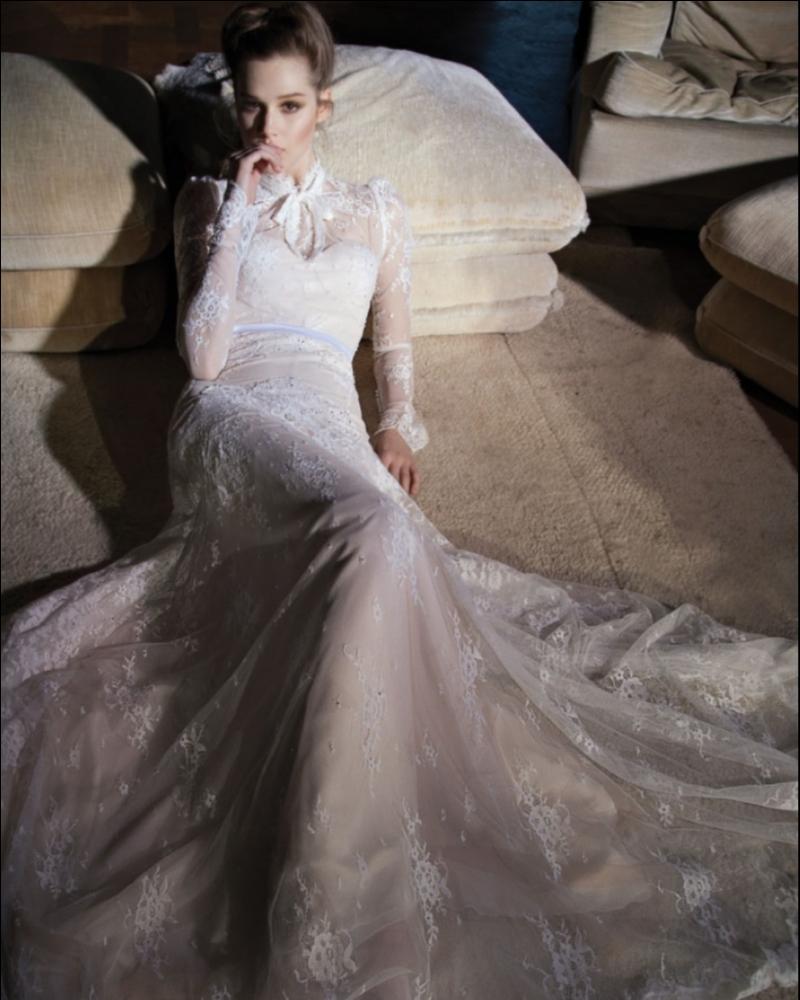 Свадебное платье израильского дизайнера Inbal Dror