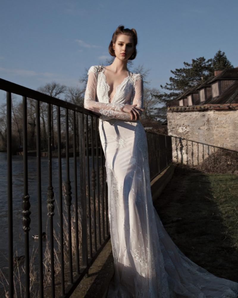 Израильское свадебное платье Inbal Dror