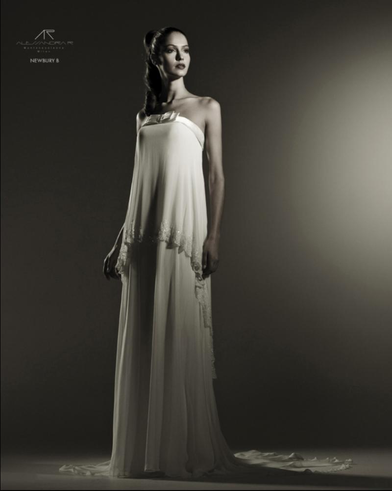 Свадебное платье  Enfield из натурального шелка для вечера