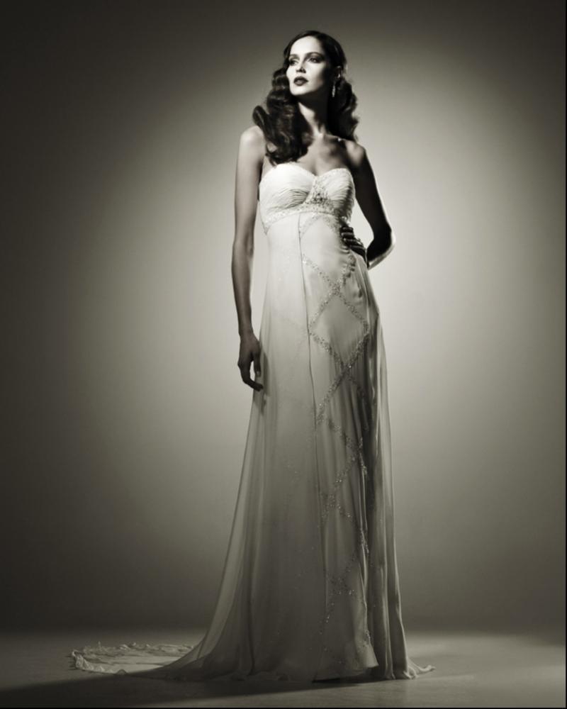 Свадебное платье  Fareman из натурального шелка для вечера