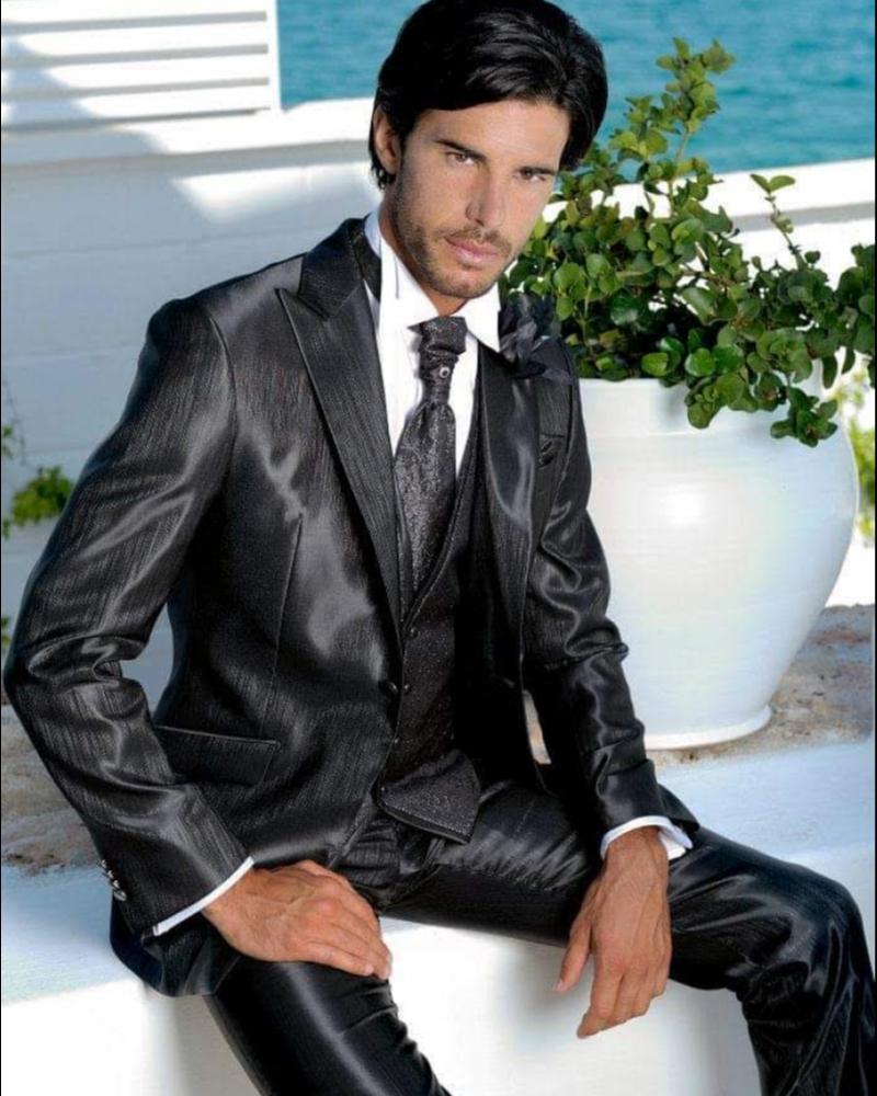 Итальянский эксклюзивный мужской костюм